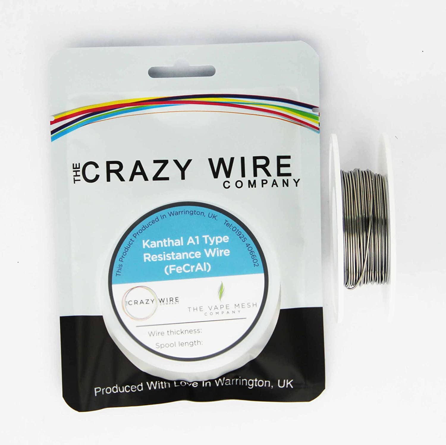 The Crazy Wire Company\'s Massive KANTHAL A1 TM (FeCrAl Alloy) Wire ...
