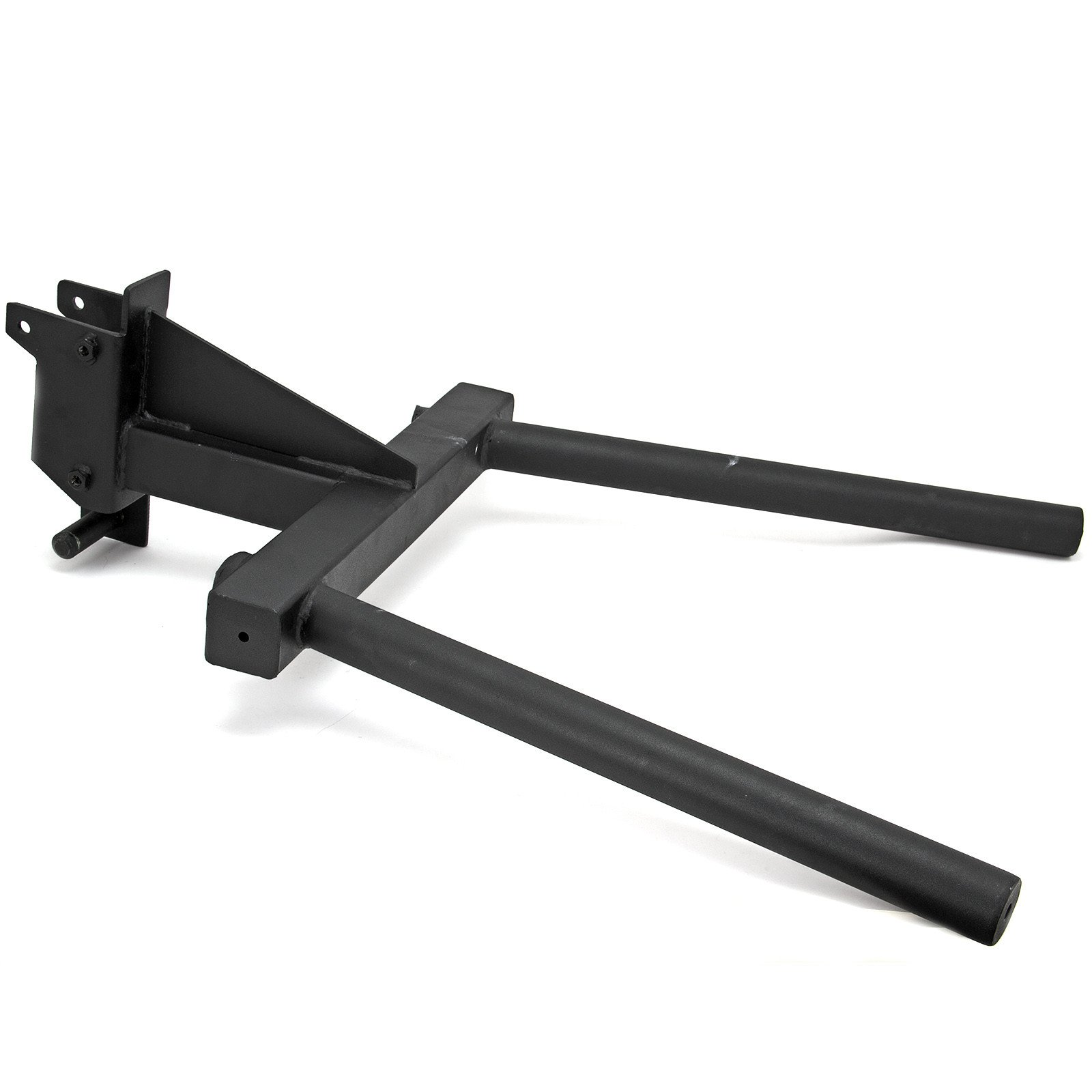 Dip Station - Attachment for 3''x3'' Rigs and Squat Racks with 1'' Hardware / Angular Bar Layout … by Fringe Sport