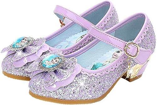 Zapatos de la Princesa Sandalias Infantil de Disfraz de Princesa de Ni/ñas para Fiesta Carnaval Cumplea/ños Cosplay