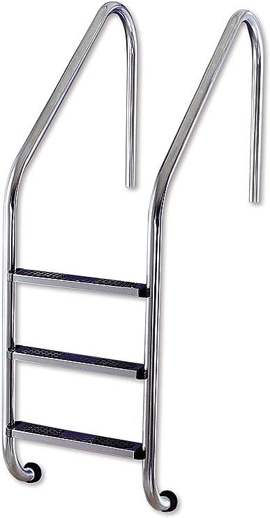 Interline 57050030 - Escalera de la Piscina de Acero Inoxidable ...