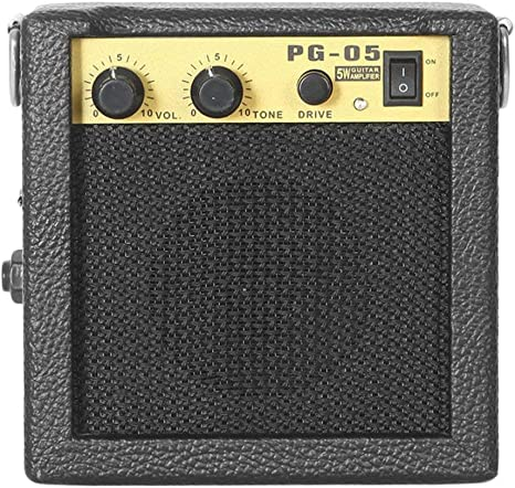 Mini amplificador de guitarra, E-WAVE PG-05 5W Mini Amplificador ...