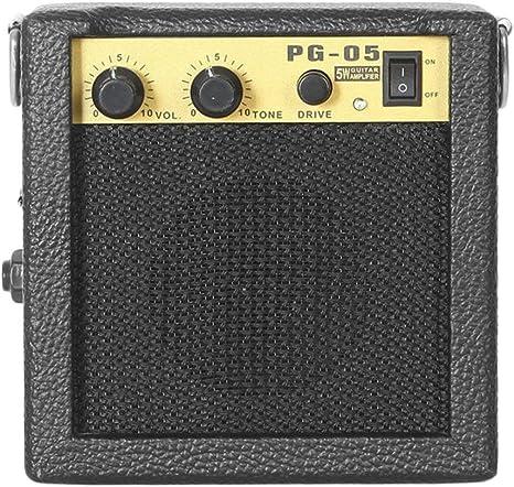 Mini amplificador de guitarra, E-WAVE PG-05 5W Mini Amplificador ...