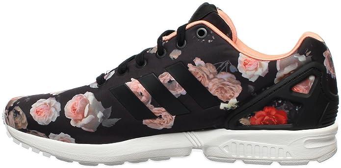 bb99c6e4ef33 Adidas ZX Flux Women s Shoes Carbon Black Semi Flash Orange b34010 (10 B(M)  US)  Amazon.ca  Shoes   Handbags