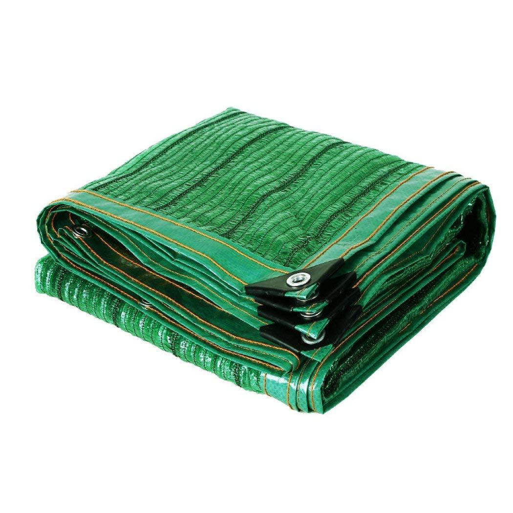 65%日除け生地バイザー布 ワッシャー付き、花に対して完全丈夫 軽量 遮光ネット 植物 テラス芝生,Green_5x6m/15x18ft B07SDCHL81 Green 5x6m/15x18ft