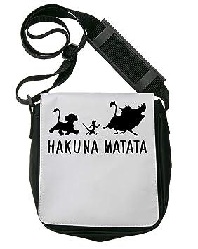 Sillouete Hakuna Matata Funny Bolso Bandolera Riñonera De Hombro ...