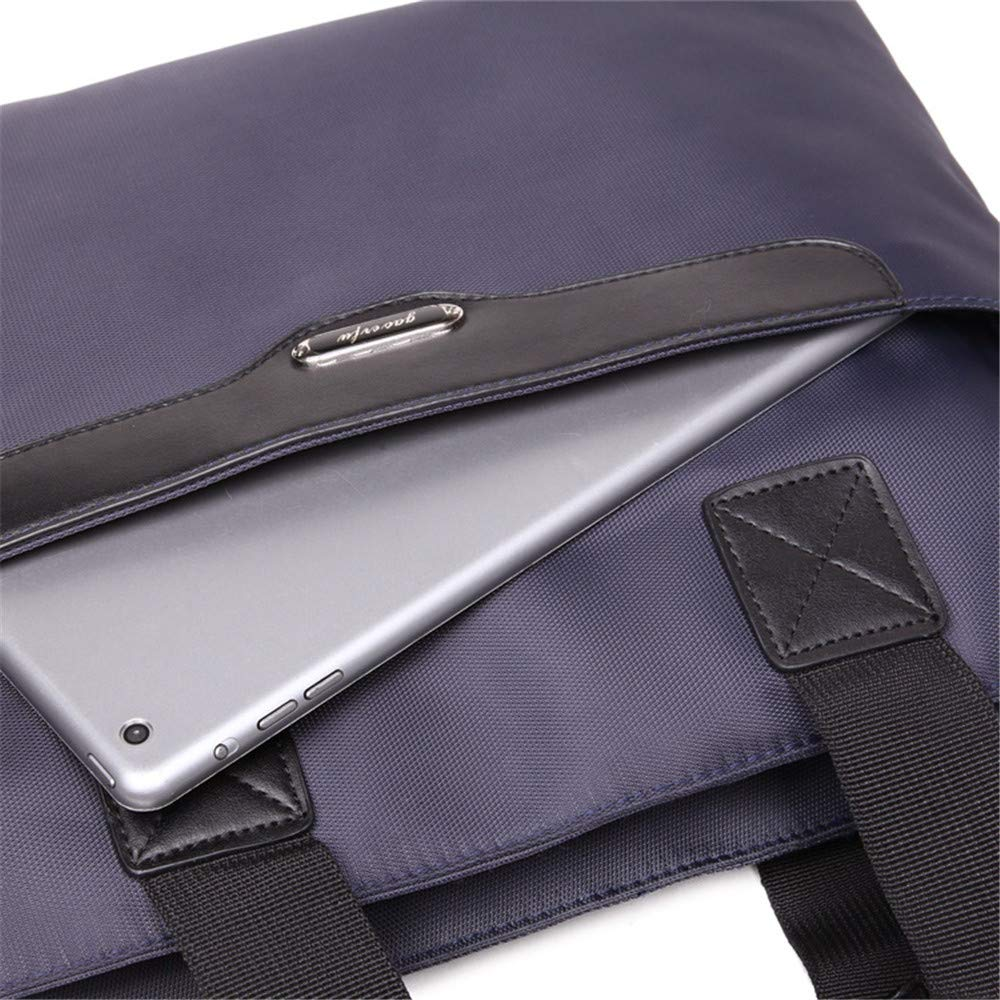 Xiejuanjuan Laptop and Tablet Bag Conference Document Package A4 High-Grade Oxford Cloth Briefcase Oxford Cloth Storage
