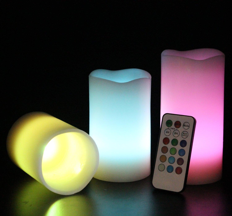 7142dZcKQZL._SL1500_ Schöne Kerze Leuchtet In Verschiedenen Farben Dekorationen
