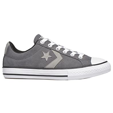 f8793b3f6ad8 Converse Kids Star Player EV Ox Thunder Cloud Suede Trainers 13 UK   Amazon.co.uk  Shoes   Bags