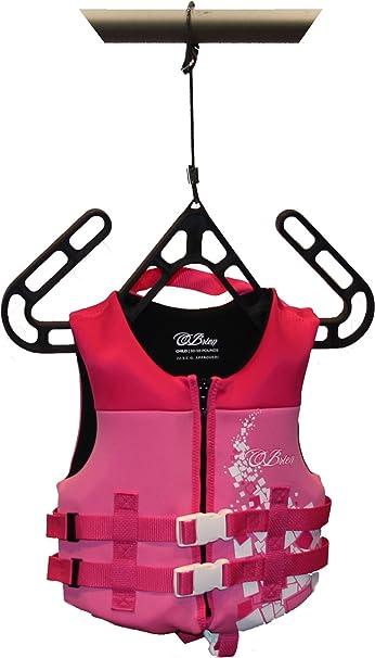 Pack of 4 VestMate Life Jacket Hangers Life Vest Hangers Buoyancy Compensator Hangers