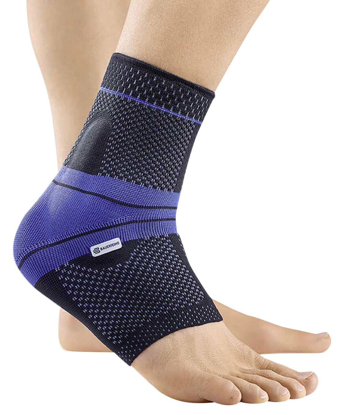 Bauerfeind MalleoTrain Left Ankle Support (Black, 6)