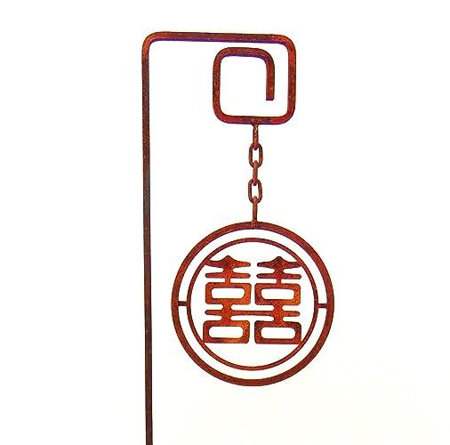 Amazon Large Metal Garden Art Sculpture Chinese Symbol Meaning