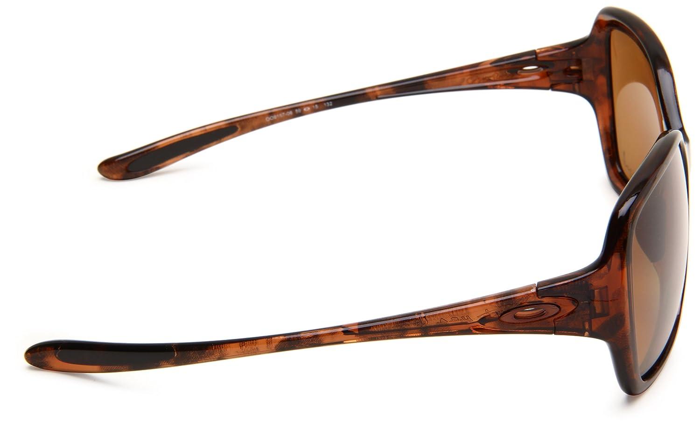 609091bb483 Oakley Women s Overtime Oo9167 Tortoise Frame Bronze Polarized Lens Plastic  Sunglasses  Amazon.co.uk  Clothing