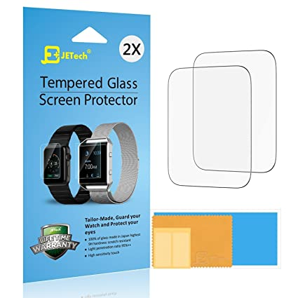 7928c478750bd JETech Protector de Pantalla para Apple Watch 42mm Series 1 2 3 ...