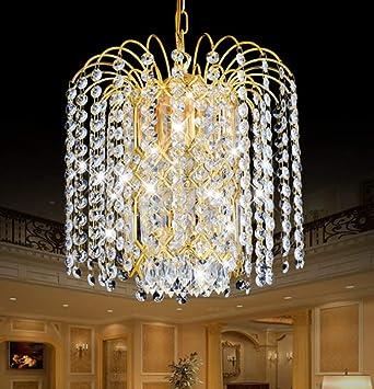 Amazon.com: Modern Crystal Chandelier Luxury Villa Suitable ...