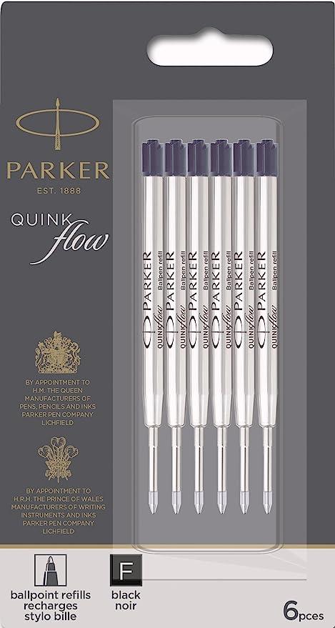 Parker Rollerball Pen Refill Fine Black Authentic Parker Rollerball Refills
