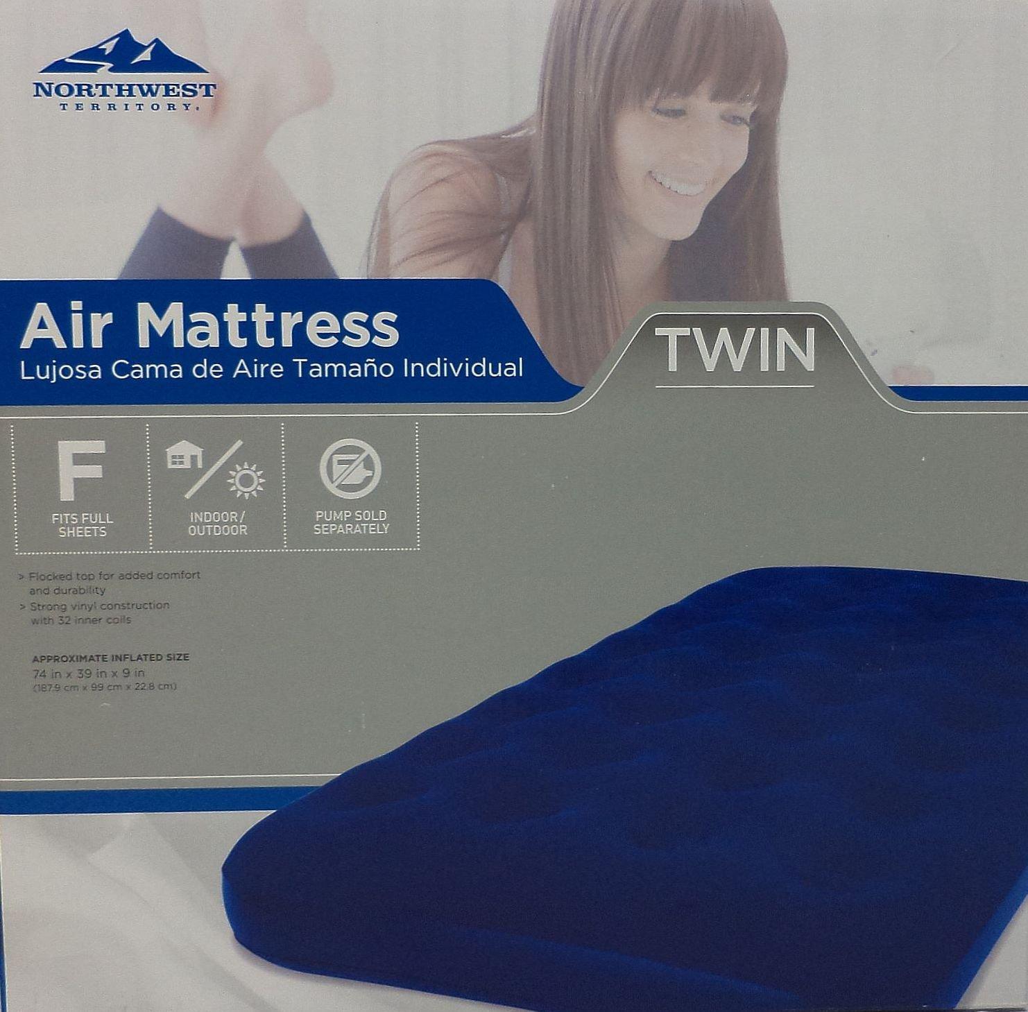 Northwest Territory Air Mattress Twin Sporting Goods
