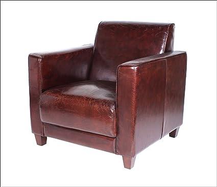 PRDCT] The Vintage - Funda de Piel Real diseño sillón salón ...