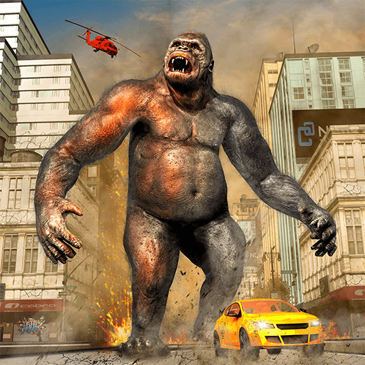 - Gorilla Rampage Angry Gorilla Attack City Smasher Giant Monster
