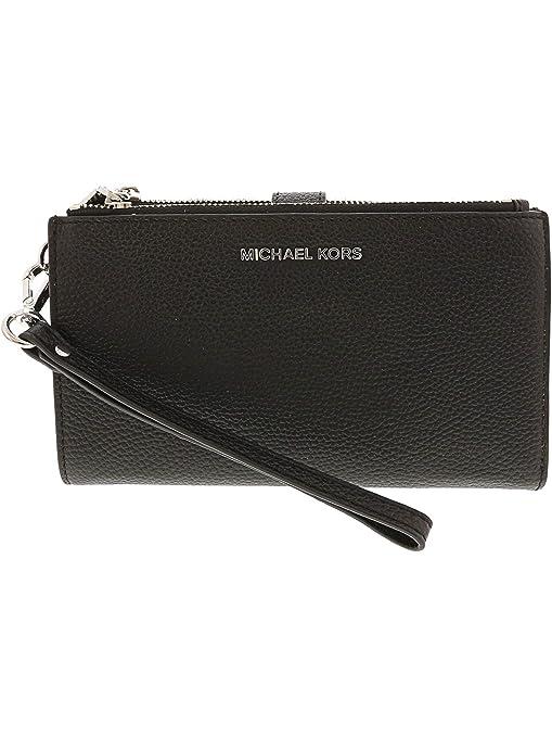 Michael Kors Portafoglio Adele in pelle nera e6bb5232e63