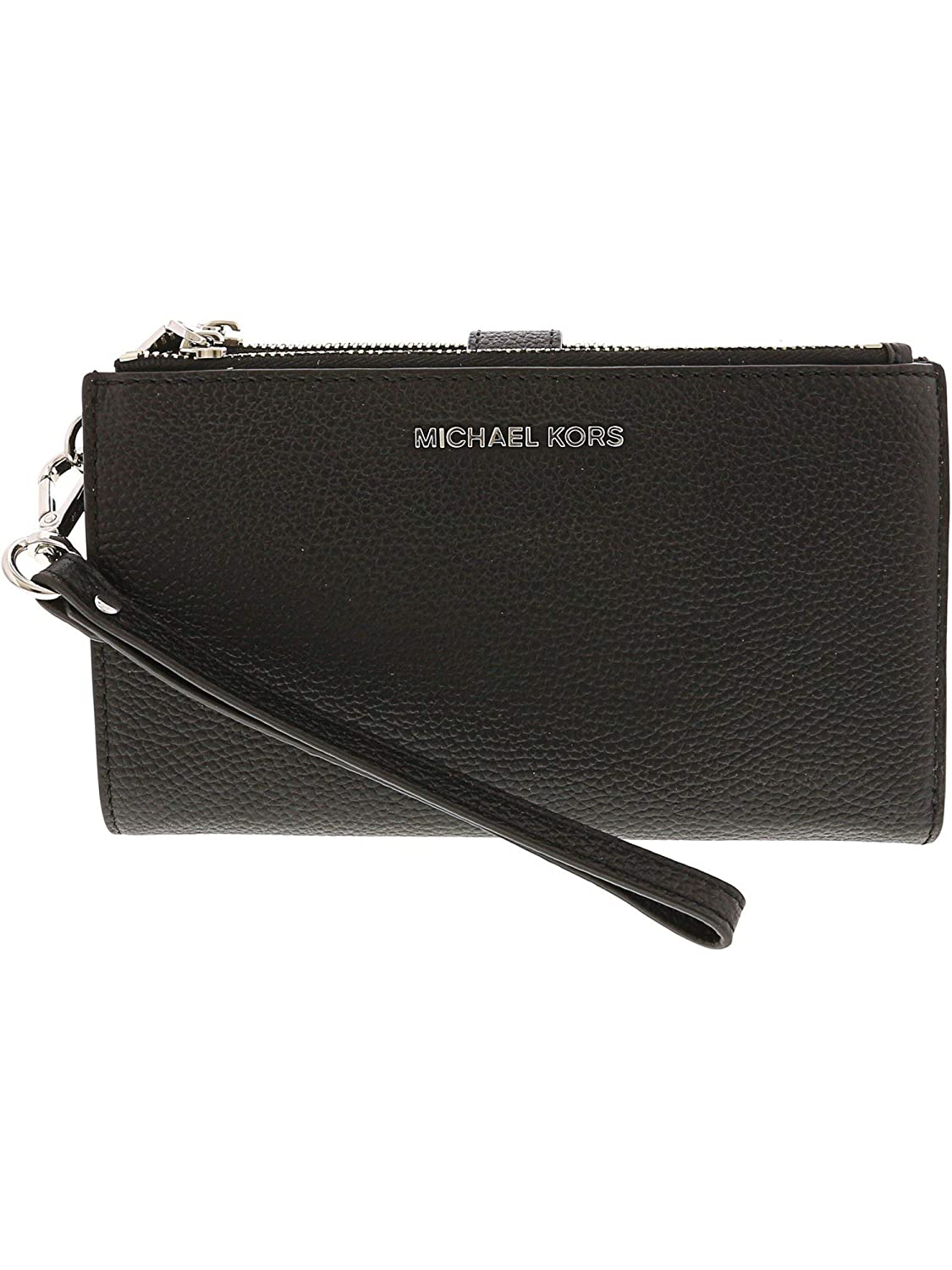 046c88064e7f Amazon.com: Michael Kors Women's Michael Kors Adele Tumbled Black Leather  Purse Black: Michael Kors: shophydra