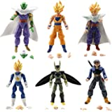 "KAKALIN Dragon Ball Z 6pcs/Set 5"" Figures: Piccolo Cell Trunks Super Saiyan Goku Gohan Vegeta"