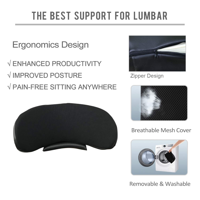 Amazon.com: Big Hippo Almohada de apoyo lumbar, cojín de ...