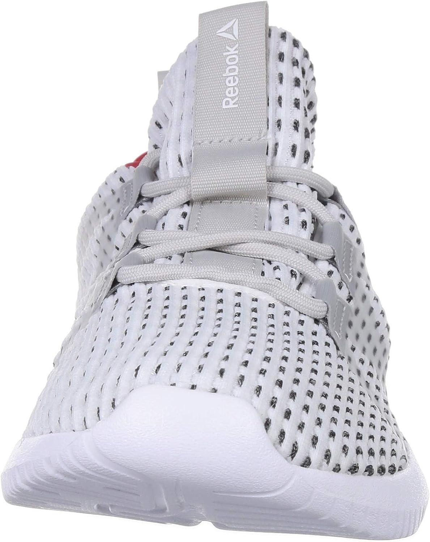 Reebok Reago Pulse, Chaussures de Fitness Homme Multicolore White Skull Grey Primal Red 000