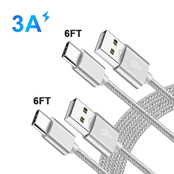8156f516784794 USB Type C Charging Cable QC 3.0 Fast Charger Cord for LG Stylo4/Stylo 4