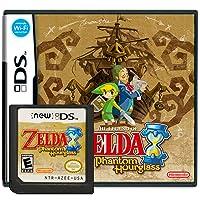 The Legend of Zelda: Phantom Hourglass Version Games Card Cartridge Compatible with NDS/2DS/3DS/DSI/2DSXL/3DSXL (Reproduction Version)