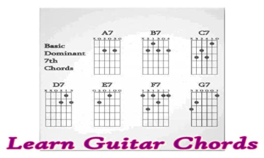 Amazon Learn Guitar Chords Appstore For Android