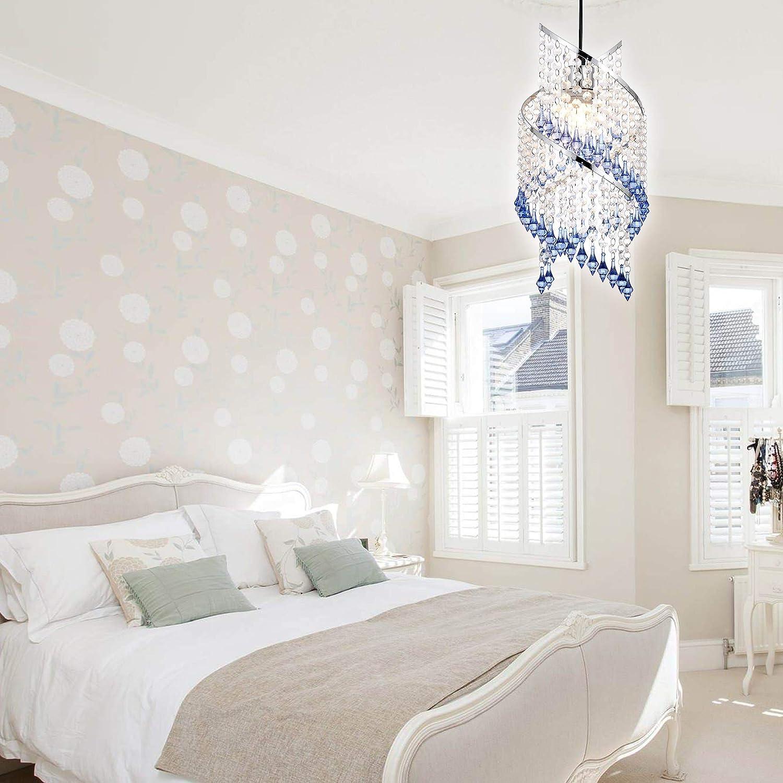 INNOTECK Acrylic Moda Sparkly Ceiling Pendant Light Shade Steel