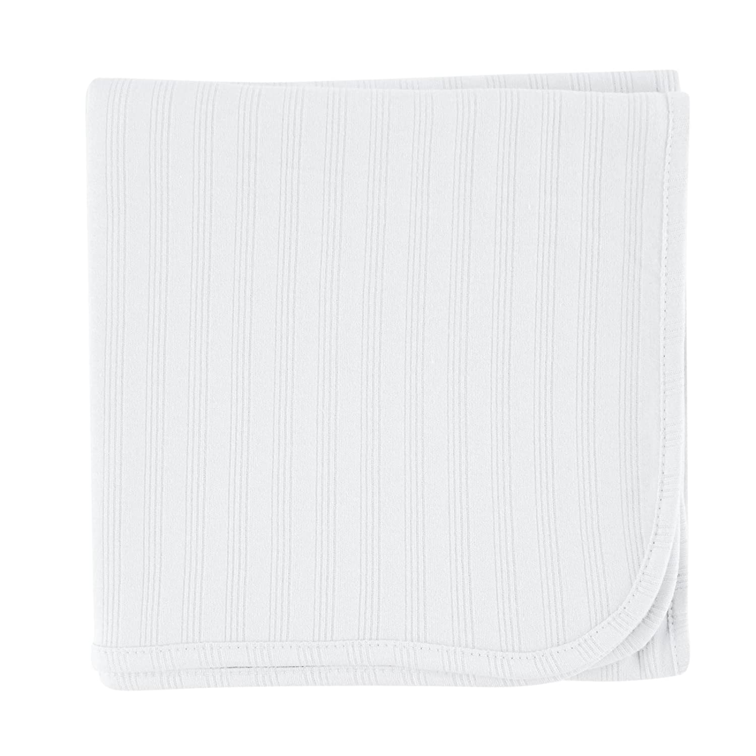 Touched by Nature Organic Receiving Blanket, White