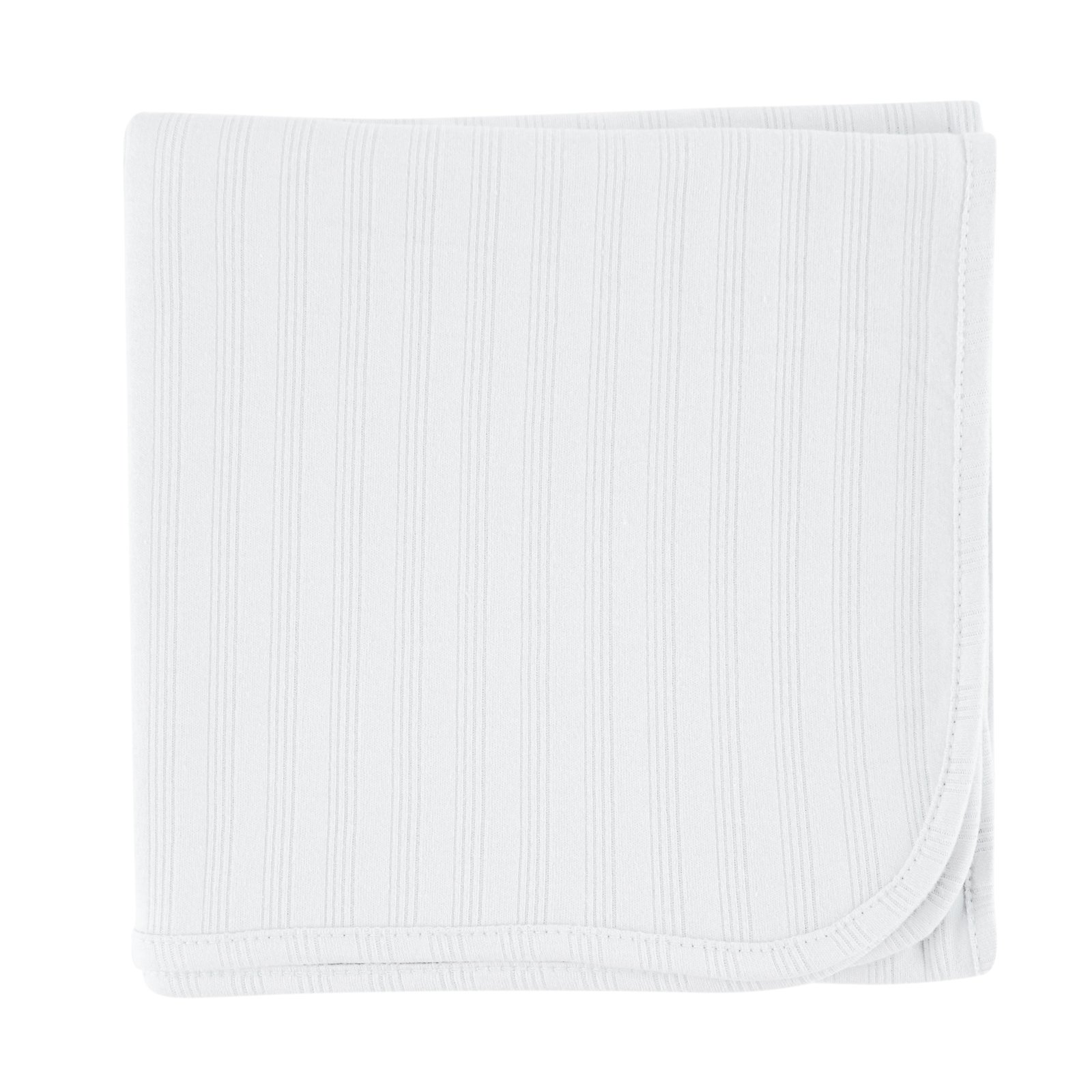 Touched by Nature Organic Receiving Blanket, White by Touched by Nature