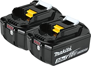 2-Pack Makita 18V LXT Lithium Ion 3.0Ah Battery