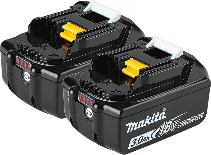 Makita BL1830B-2 18V LXT Lithium-Ion 3.0Ah Battery - - Amazon.com