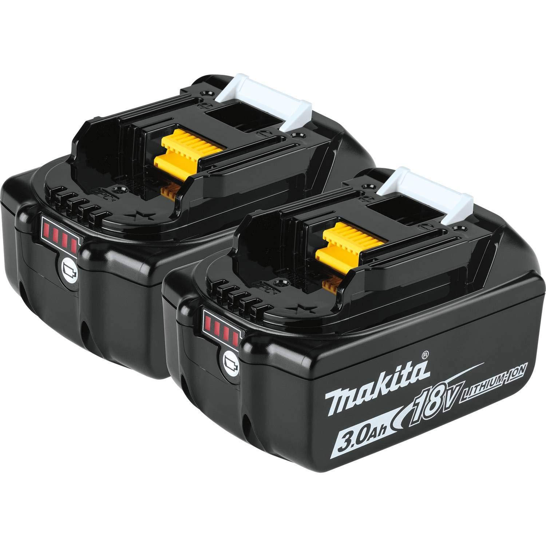 2 Baterias Originales Makita BL1830B 18V LXT 3.0Ah