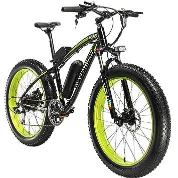 extrbici xf660 500 W 48 V 10.4 Ah bicicleta eléctrica 26 X4.0 grasa