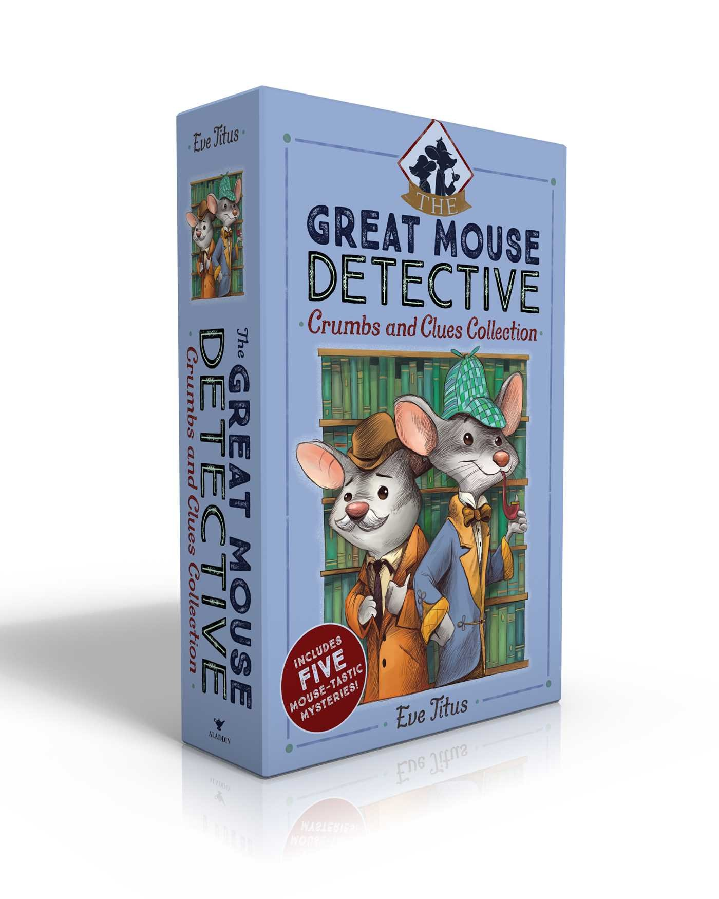 The Great Mouse Detective Crumbs and Clues Collection: Basil of Baker Street; Basil and the Cave of Cats; Basil in Mexico; Basil in the Wild West; Basil and the Lost Colony