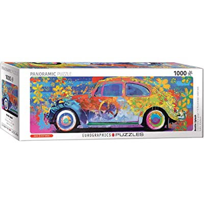 Volkswagon Beetle Splash Panormaic 1000-Piece Puzzle: Toys & Games