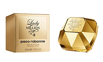 Amazoncom Lady Million By Paco Rabanne 1 Ounce Eau De Parfums