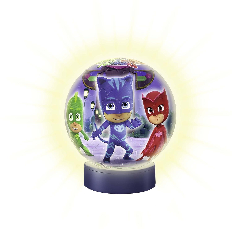 Ravensburger - Puzzle Ball 3D Lámpara, PJ Masks (11771): Amazon.es: Juguetes y juegos