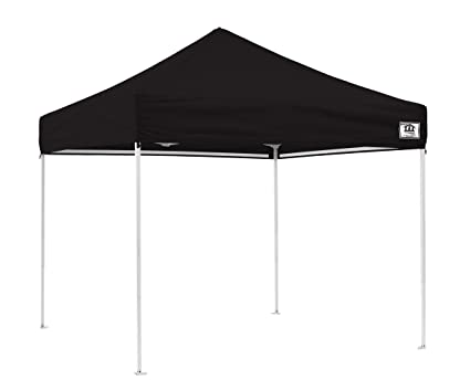timeless design 28616 e4185 Impact Canopy 10' x 10' Canopy Tent, UV Coated, Pop Up Tent Includes Roller  Bag, Black