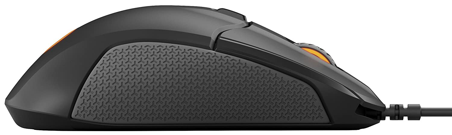 Rubber Sides RGB Illumination On-Board Memory Optical Gaming Mouse SteelSeries Rival 310 - Black 6 Buttons PC // Mac