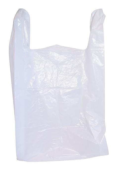 100 Grandes bolsas de plástico camiseta de comestibles ...