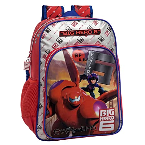 Disney 2232351 Big Hero 6 Mochila Adaptable a Carro, Color Rojo