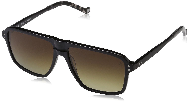 Hackett London HSB86802P57 Gafas de sol, Negro, 57 para Hombre