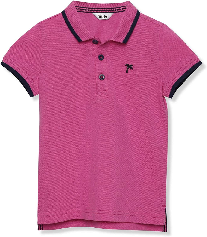 M/&Co Boys Leaf Print Shirt