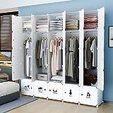 KOUSI Portable Wardrobe Closet for Bedroom