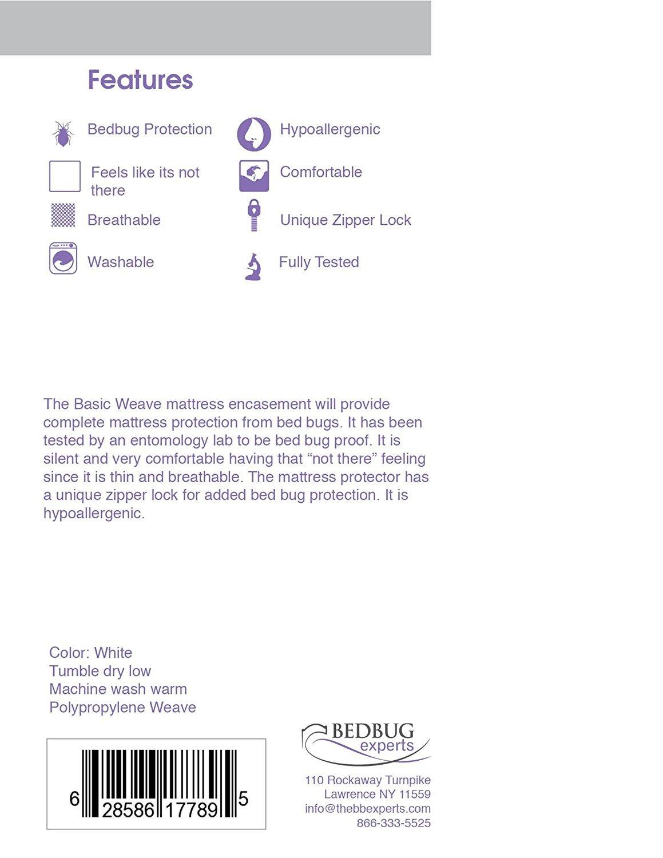 Amazon.com: Bed Bug Proof Mattress encasement Crib Mattress Cover Size 28 x  52: Home & Kitchen