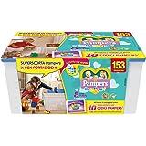 Pampers Box Baby Dry Pannolini Junior, Taglia 5, 153 Pezzi